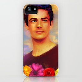 Barry with Flowers iPhone Case