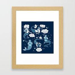 Sirens Framed Art Print