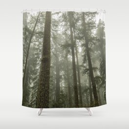 Memories of the Future - nature photography Shower Curtain