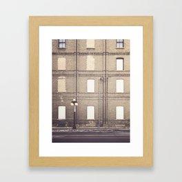Herman's Lampost Framed Art Print