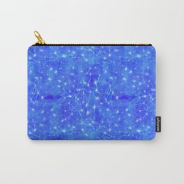 Universal Connections - Microscopic Lightning Synapses Carry-All Pouch