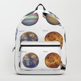 Planets solar system Backpack