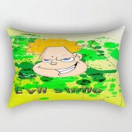 Evil Smile Rectangular Pillow