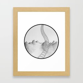 and what if... Framed Art Print