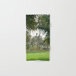 Exotic Palm Trees Hand & Bath Towel