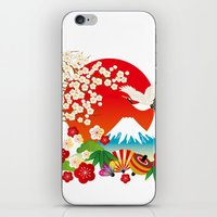 japan iPhone & iPod Skins featuring Japan by rie_lalala
