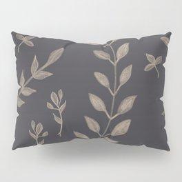 Light Sepia Leaves Pattern #1 #drawing #decor #art #society6 Pillow Sham