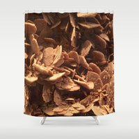 oklahoma Shower Curtains featuring Oklahoma Gypsum  by UMe Images