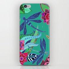 Dragonfly Garden iPhone & iPod Skin