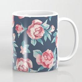 Beautiful Watercolor Flowers Pattern Art Coffee Mug
