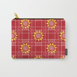 Red Hot Sunny Days Carry-All Pouch
