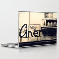 cinema Laptop & iPad Skins featuring Cinema by Ioana Stef