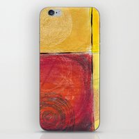 kandinsky iPhone & iPod Skins featuring Colourful pastel work kandinsky inspired by Easyposters