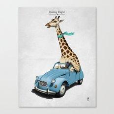 Riding High! Canvas Print