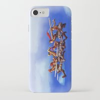 cartoons iPhone & iPod Cases featuring Shingeki no Cartoons by Witchy