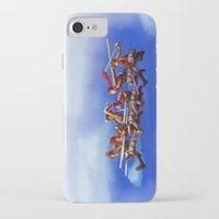 shingeki no kyojin iPhone & iPod Cases featuring Shingeki no Cartoons by Witchy