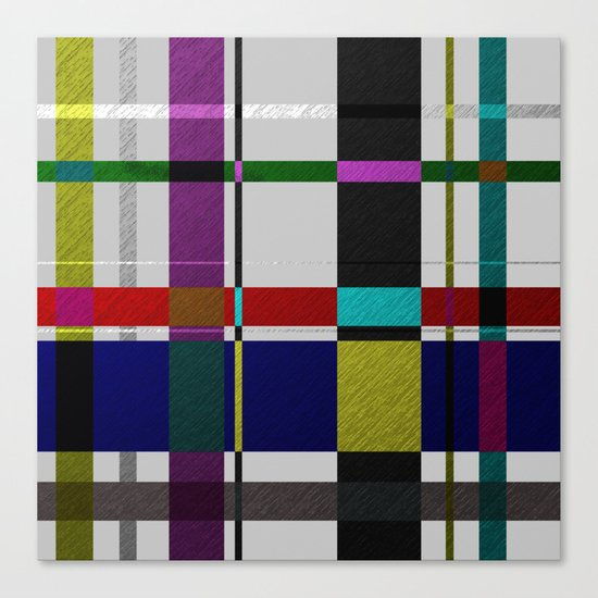 Streets Of Foil Canvas Print