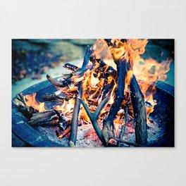 Anatomy of Fire Canvas Print