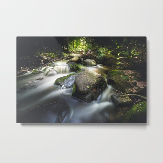 Even in darkness there´s light Metal Print