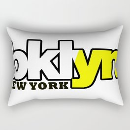 Bklyn NY simple quote Rectangular Pillow