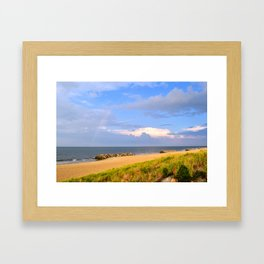 Beach I Framed Art Print