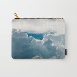View of heavy clouds from above Carry-All Pouch