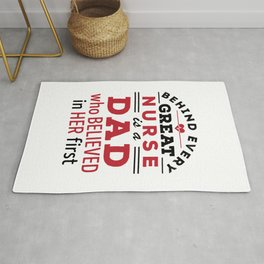 Behind Every Great Nurse Is a Dad Who Believed in Her First Rug