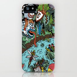 Some of us were born to explore!  iPhone Case