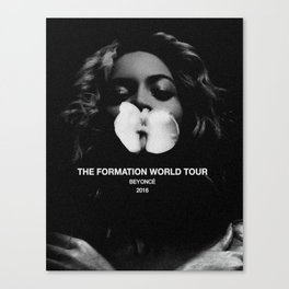 The Formation World Tour 2016 Canvas Print