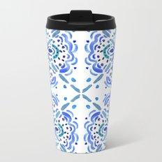 Amalfi Tile Metal Travel Mug