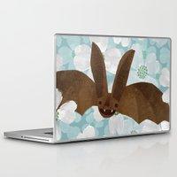 virginia Laptop & iPad Skins featuring Virginia by Santiago Uceda