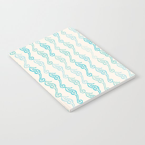 Pastel Marine Pattern 01 Notebook