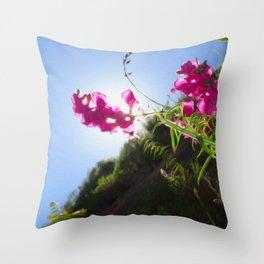 Croatian Flower Throw Pillow