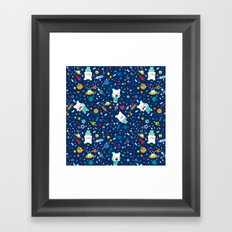 SHANHAIJING-BreadBear-HAI (Space & Aliens) Framed Art Print
