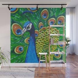 On Display - Peacock Wall Mural