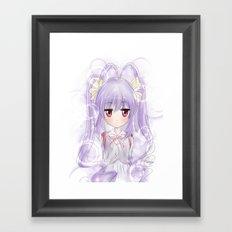 Renge - Non non biyori Framed Art Print