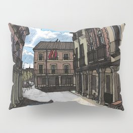 Calle Mayor (color) Pillow Sham