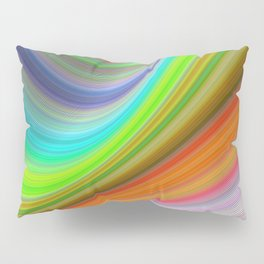 Color illusion Pillow Sham