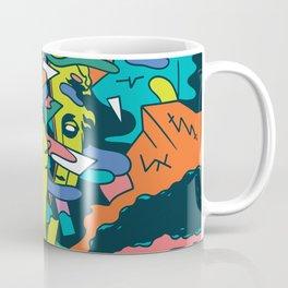 Molding back Coffee Mug
