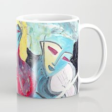 Three Blue Jazz Sisters Coffee Mug