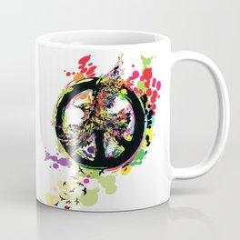 Peace & Peace Coffee Mug