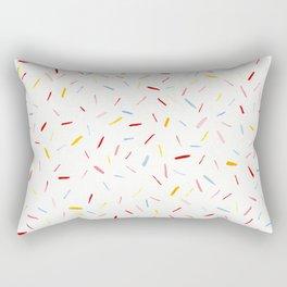 Pastel Sprinkles Rectangular Pillow