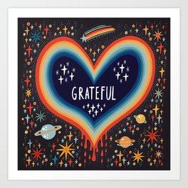 Grateful Art Print