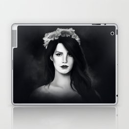 Dark Paradise (B&W) Laptop & iPad Skin