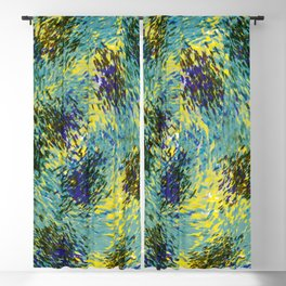 Brush strokes 535 Blackout Curtain