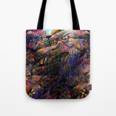 """""""And gaze for hours on the muscle, skin and bone."""" Tote Bag"""