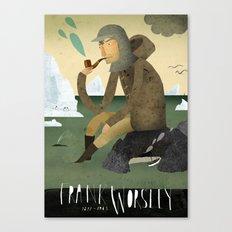 Frank Worsley Canvas Print