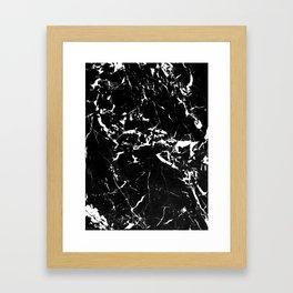 textured marble Framed Art Print