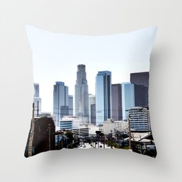 Love Angeles Throw Pillow