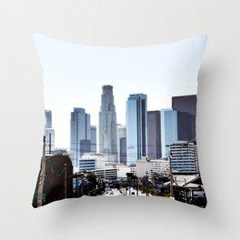 Love Angeles Throw Pillow